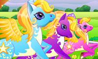 """игры про лошадей """"Скачки пони"""""""