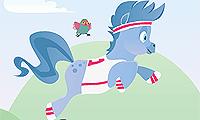 """игры про лошадей """"Сказка про моего пони"""""""