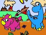 Раскраски Динозавры
