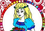 Раскраски для девочек онлайн