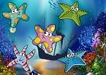 """Игра на внимание """"Найди морские звёздочки"""""""