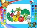 """Раскраска онлайн """"Овощи"""""""