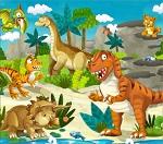 "Пазл ""Динозаврики"""