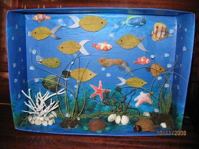 Поделки в аквариума своими руками фото