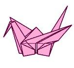 "оригами ""Журавлик"""